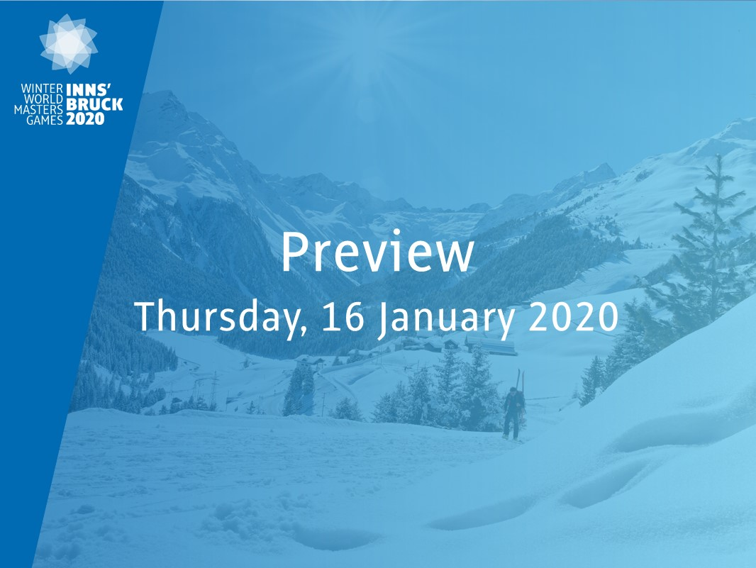 Preview: tomorrow Thursday, January 16, 2020