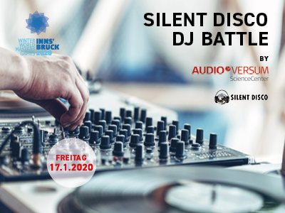 Silent Disco Battle presented by AUDIOVERSUM