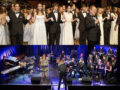 "Heute, Donnerstag im Masters Village: Waltz Night by Polai – ""Alles Walzer! & Inn Seit'n Big Band"